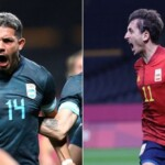 Spain vs. Argentina LIVE Olympic Games Tokyo 2020 see LIVE ONLINE TV via Public TV and TyC Sports RTVE Claro Sports by date 3 of group C of men's soccer from Saitama Stadium minute by minute | Live football