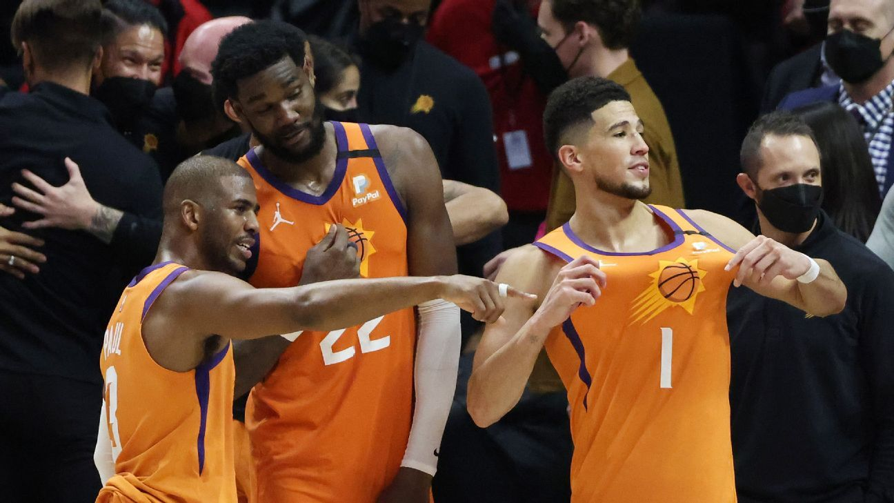 Suns detect cracks from Bucks in the face of the