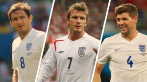 Ten legends of England who never won anything with the National Team