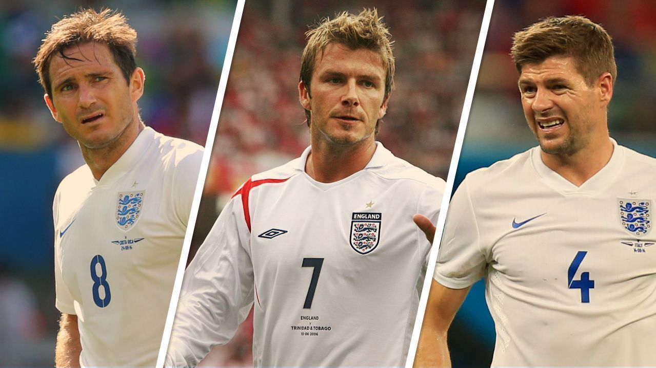 Ten legends of England who never won anything with the