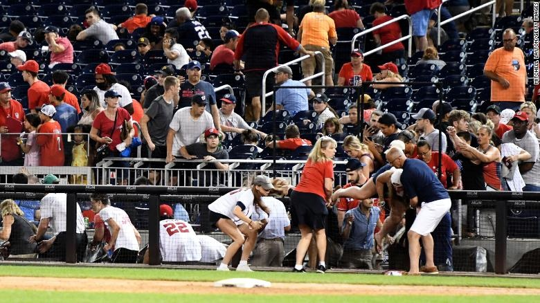 The Nationals Park shooting was not the only one in