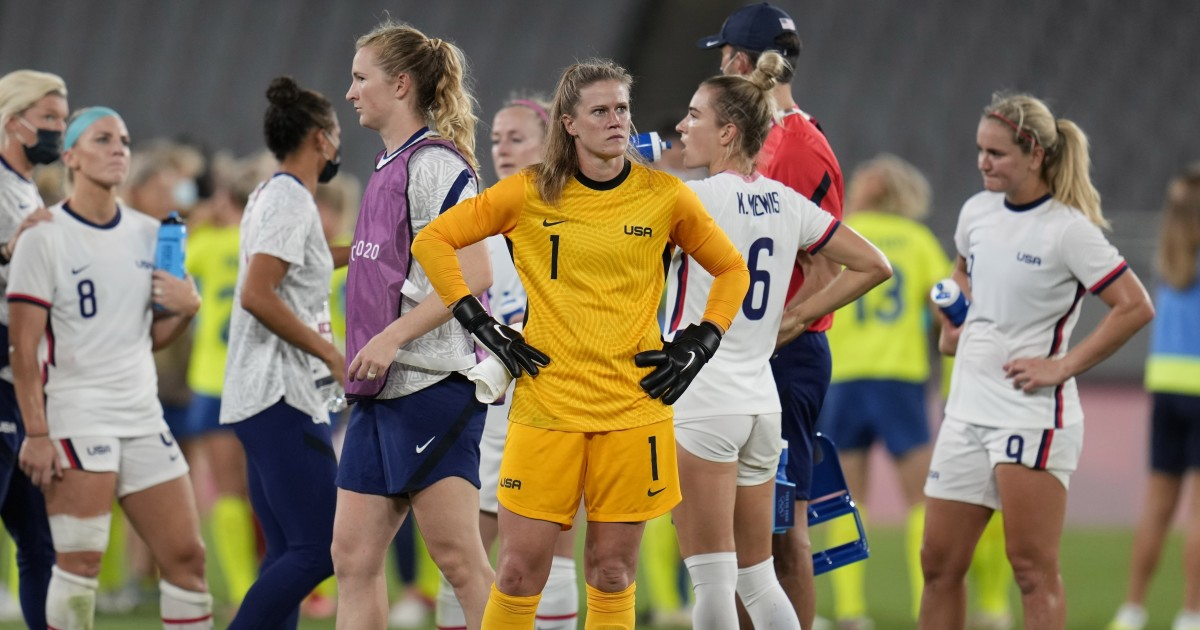 The US women's team is already in a difficult situation after losing to Sweden 3-0 in their Olympic debut.