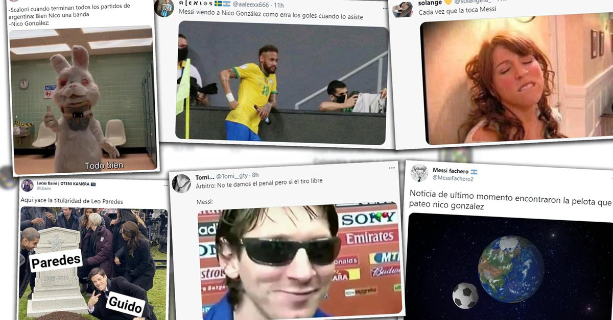 The best memes of Argentina's win over Ecuador with Lionel Messi as the protagonist