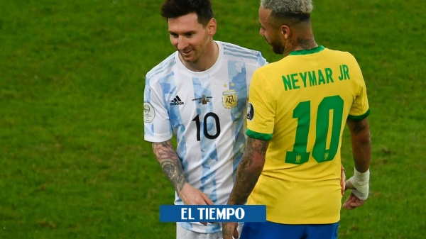 The embrace of the soul Neymar and Messi between tears