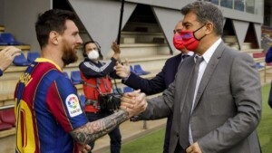 The inscription of Messi and of the signings, in danger