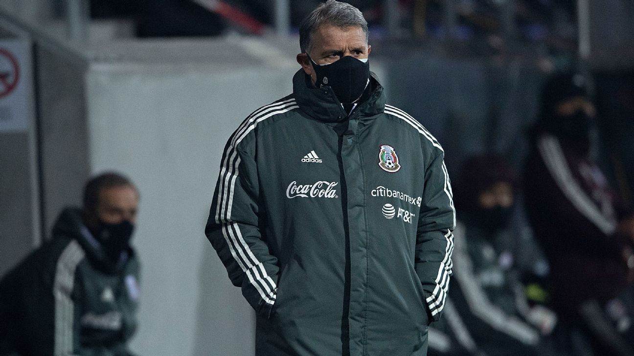 The last time that Tata Martino was not on the