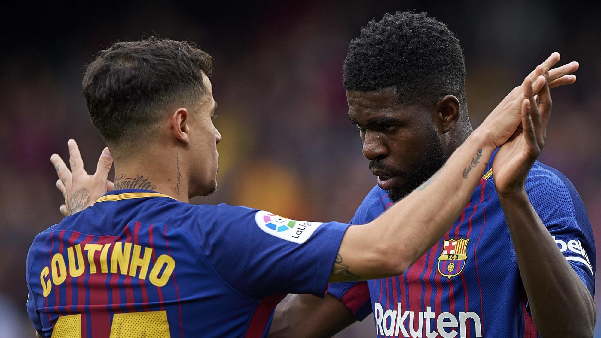 The latest news on Barcelonas possible departures Messi Coutinho Umtiti