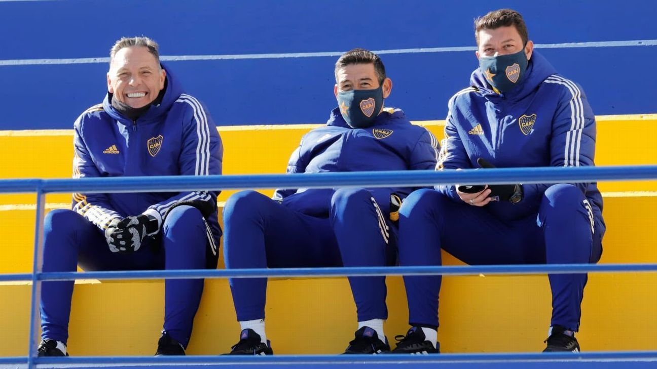 The options that Boca Juniors manages to put juveniles or
