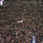 The photos of the celebrations of England for the Eurocopa that turn on the alerts for a new wave of COVID-19