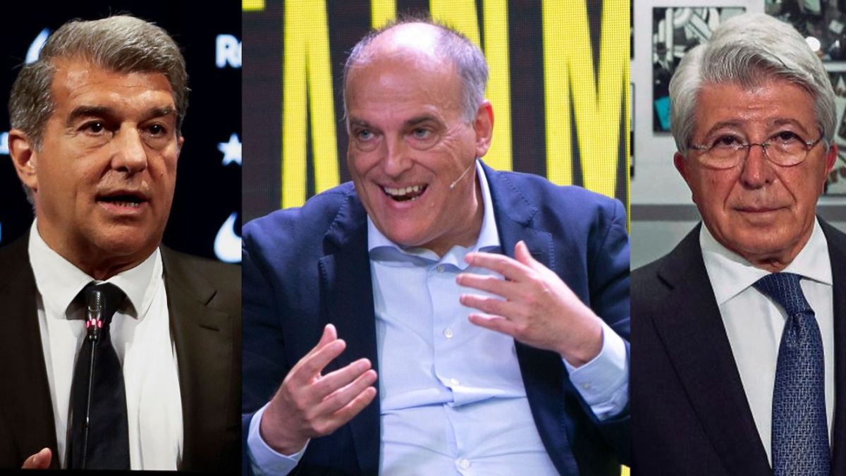 The puzzle of Laporta and the rest of LaLiga presidents