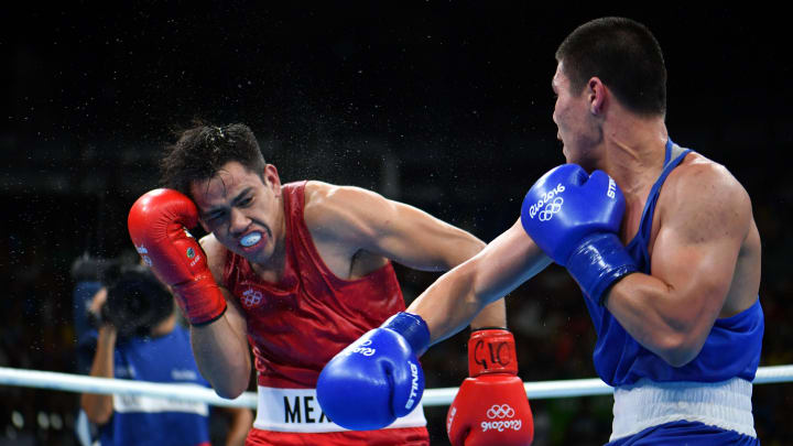 The representatives of Mexico in the boxing of the Olympic