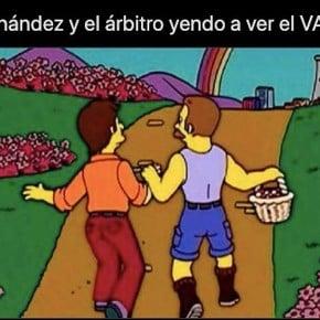 The memes exploited by the VAR in Boca - Mineiro