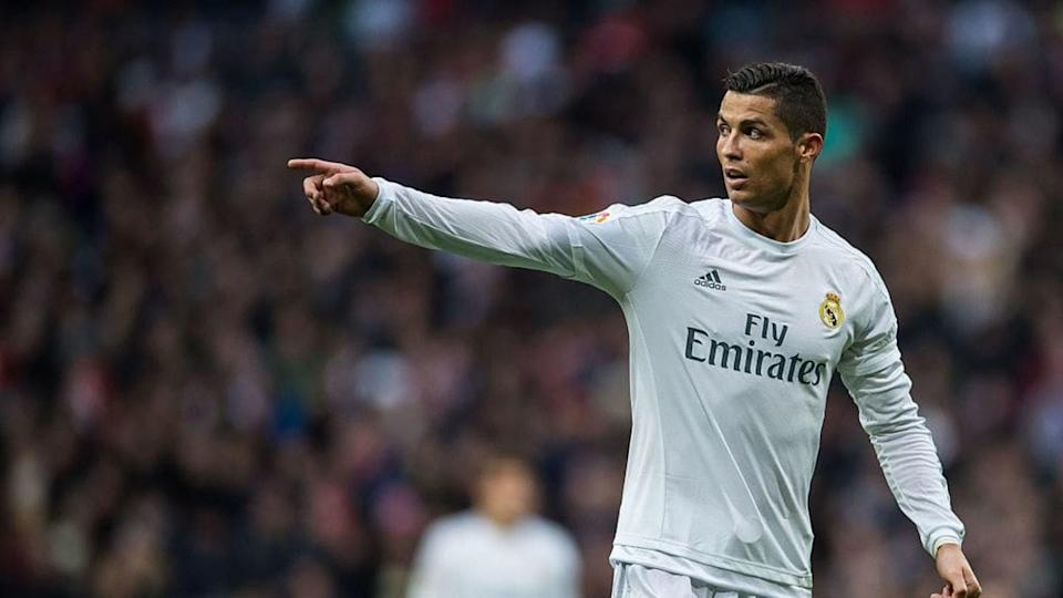 Cristiano Ronaldo in a match with Real Madrid | Power Sport Images / Getty Images