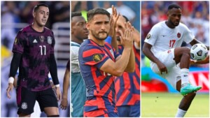 The three historic Gold Cup champions are still on their way