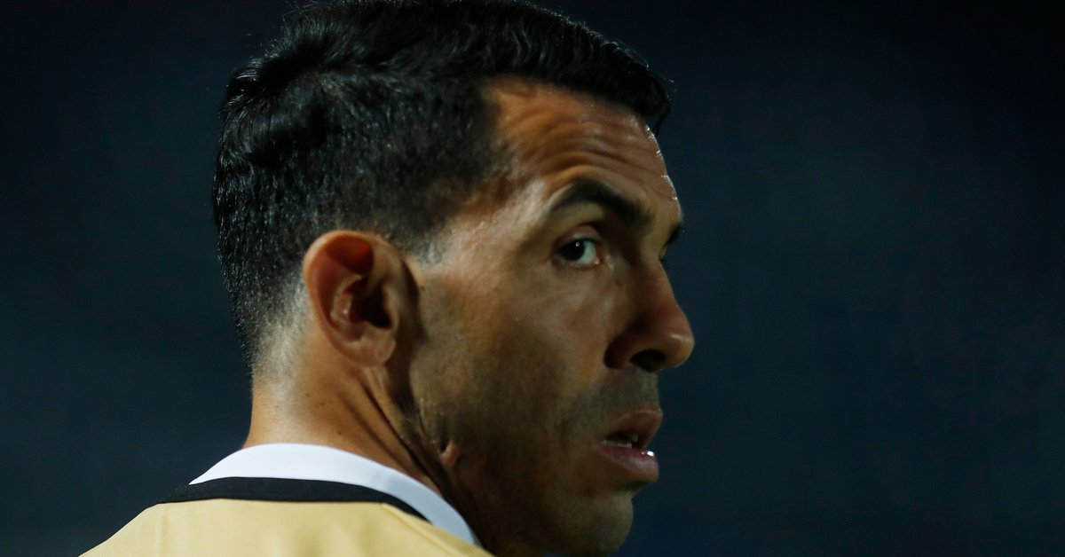 The viral photo of Carlos Tevez in the United States that fuels rumors about his future