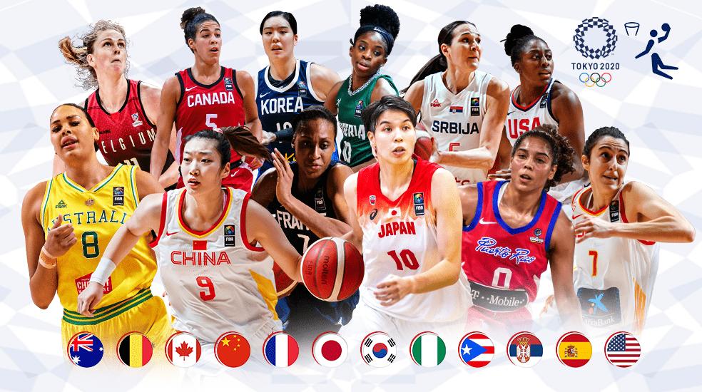Tokyo 2020 womens basketball the Spanish team to make up