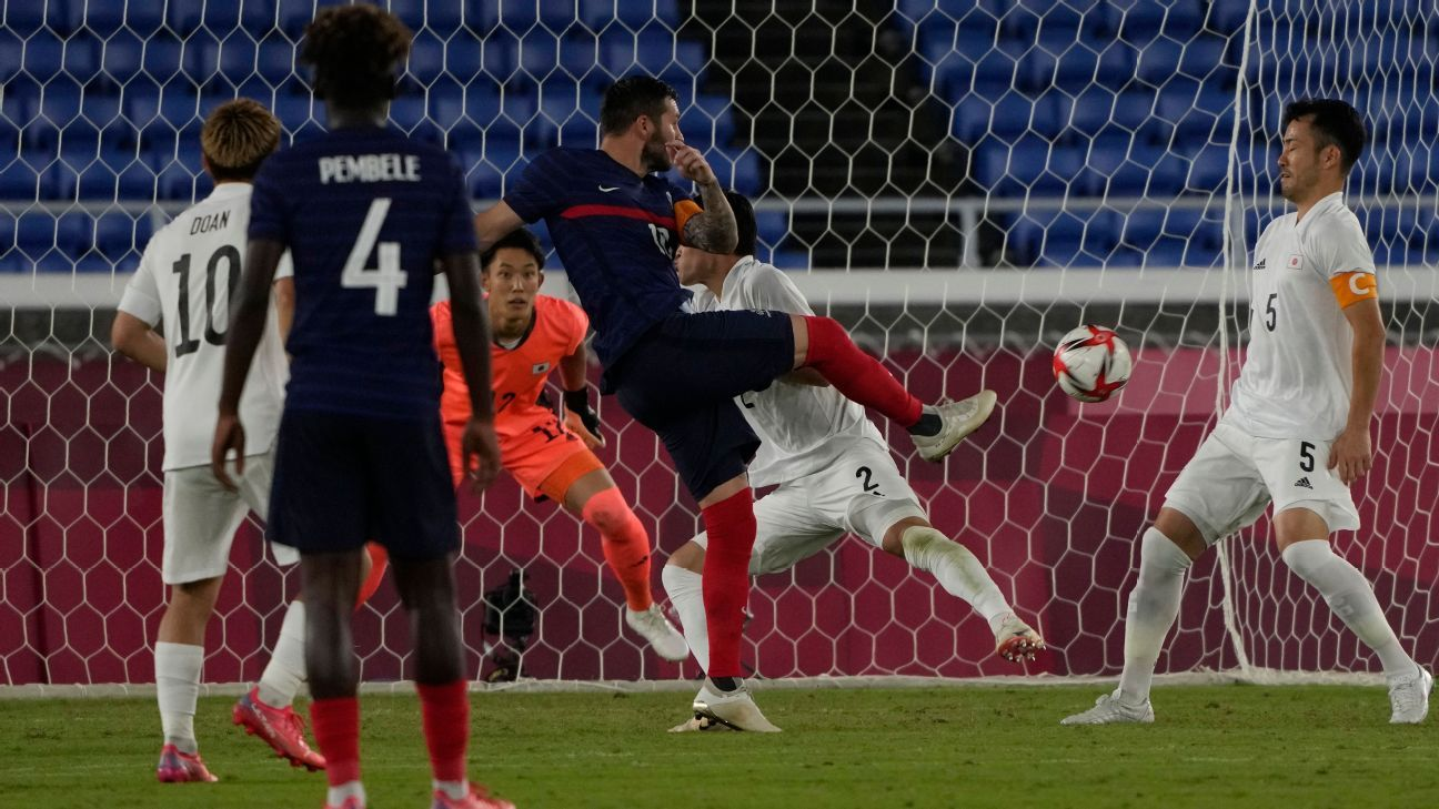 Tokyo France is eliminated and fans criticize the team with