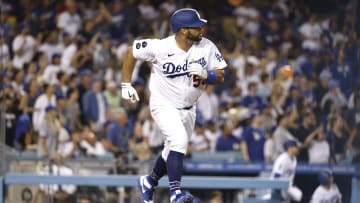 Albert Pujols also took part in the Dodgers party