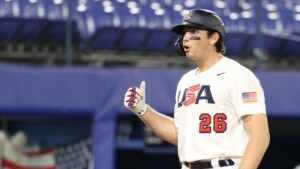 USA Baseball come back to Korea and win their group undefeated