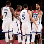 """United States gets into the quarterfinals in Tokyo 2020 basketball with the """"historic"""" Kevin Durant"""