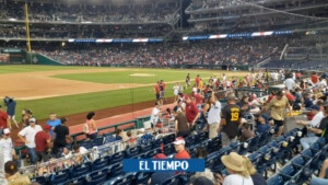 Washington baseball game suspended for shooting