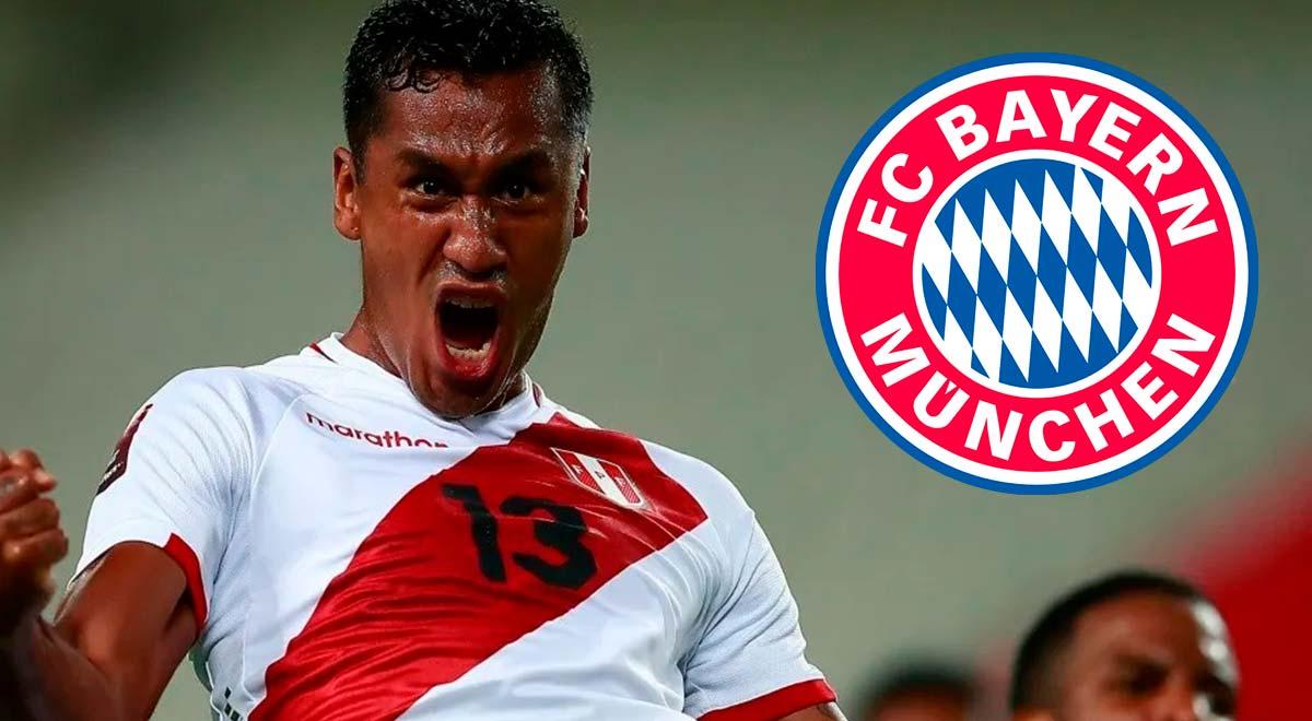 Wikipedia announces the signing of Renato Tapia by Bayern Munich