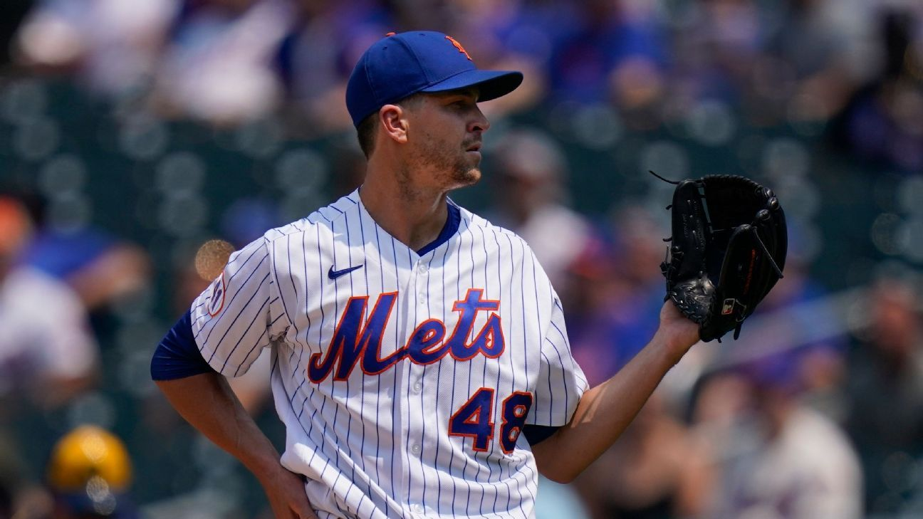 deGrom announces that he will not go to the All Star