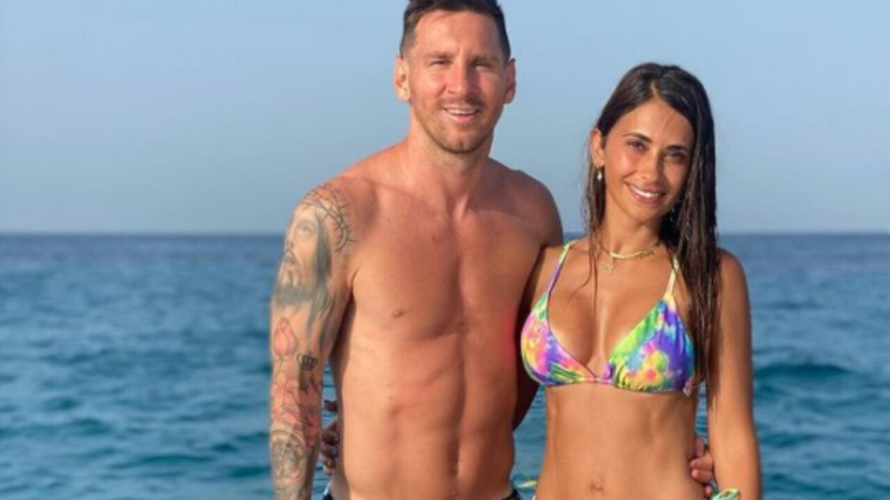 Last days of vacation: the photos of Lionel Messi and Antonela Roccuzzo with their friends in Ibiza