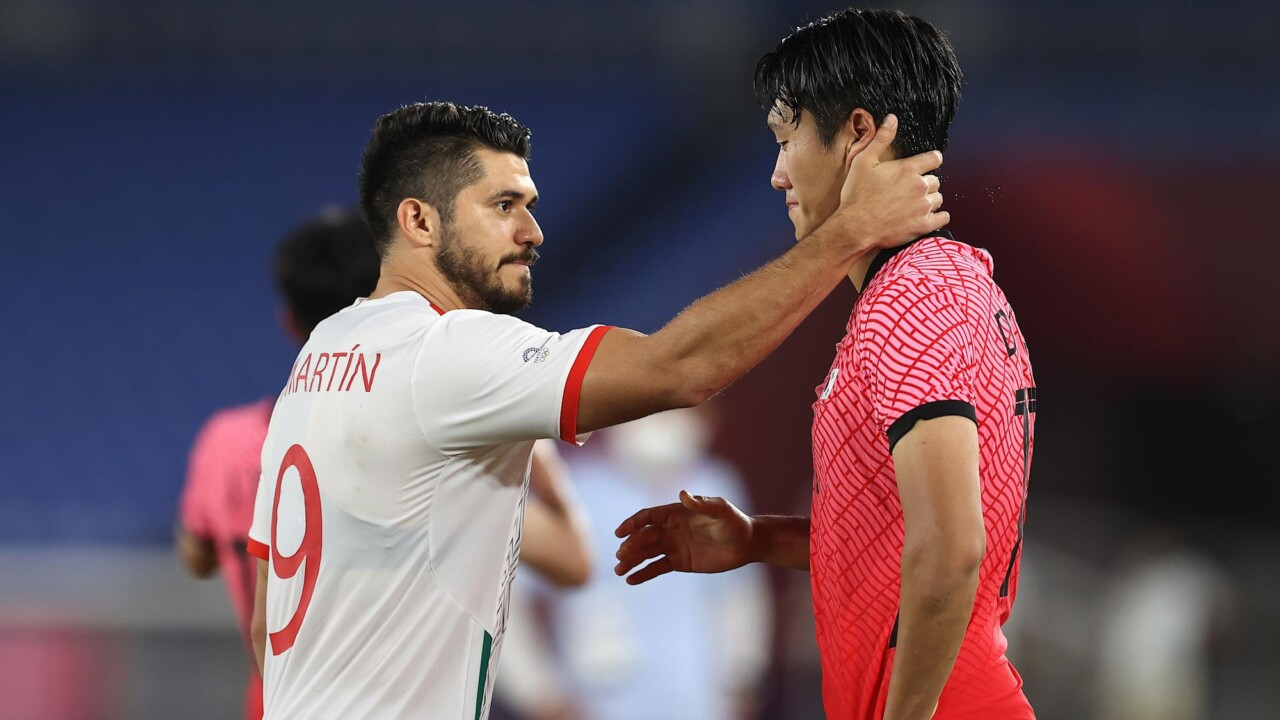 Mexicans consoling Koreans, the sporting gesture that has moved from Tokyo