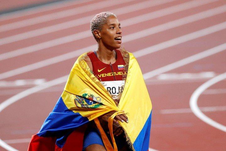 Yulimar Rojas Olympic triple jump champion.