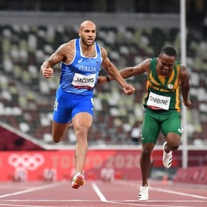 The surprising new champion of the 100 meters