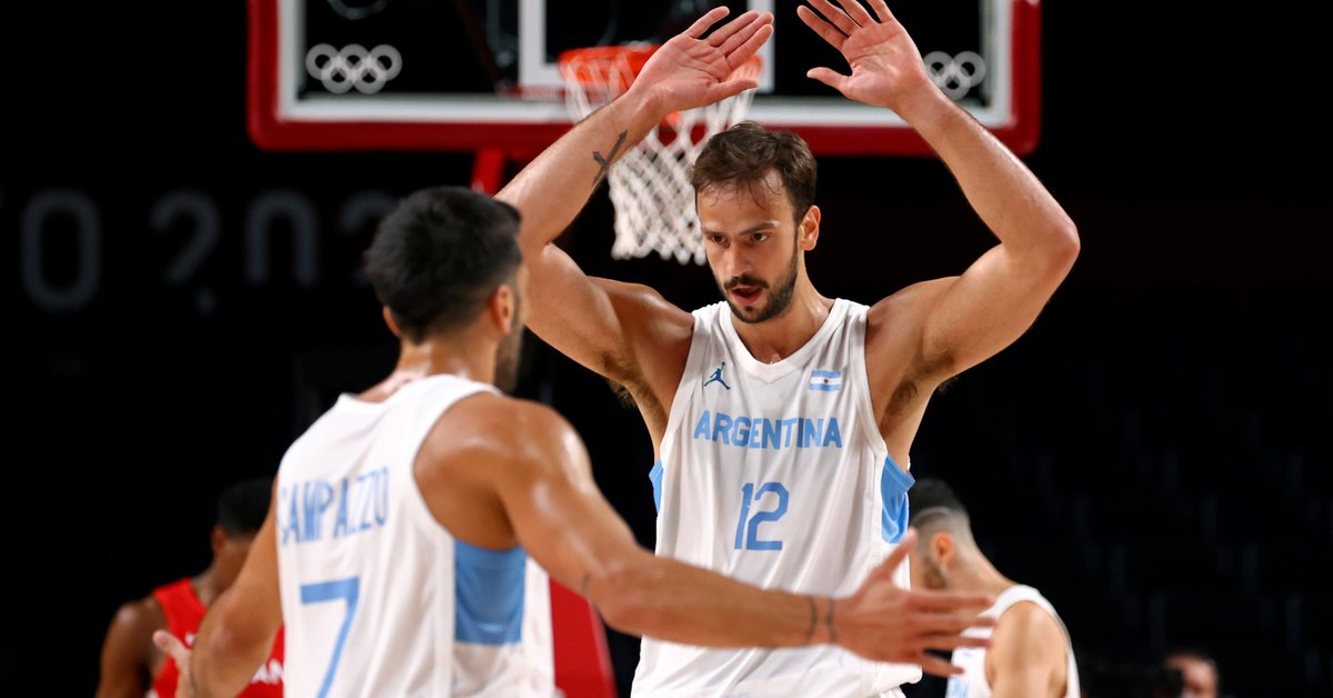 Argentina's resounding victory over Japan to qualify for the men's basketball quarterfinals at the Olympic Games