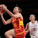 The women's basketball team beats Canada and avoids the United States in the quarterfinals