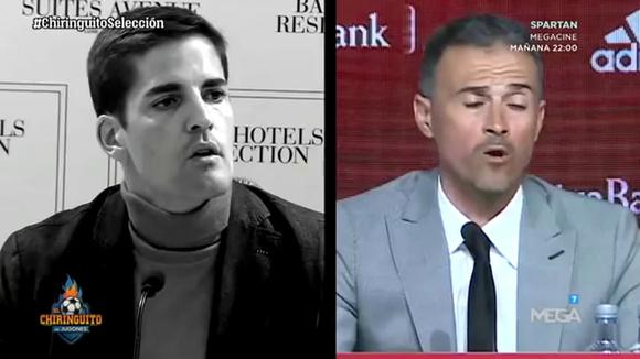 The disagreements between Robert Moreno and Luis Enrique. (Video: El Chiringuito)