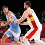 What does the Argentine basketball team need to go to the quarterfinals at the Olympic Games