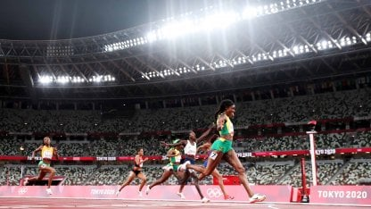 Elaine Thompson, unstoppable: conquered the gold in the 200 meters