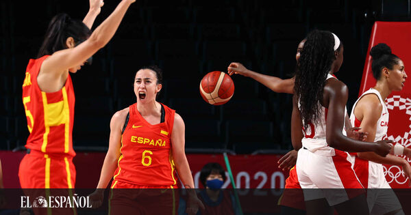 1628007984 The Spanish womens basketball team defeats Canada and goes to