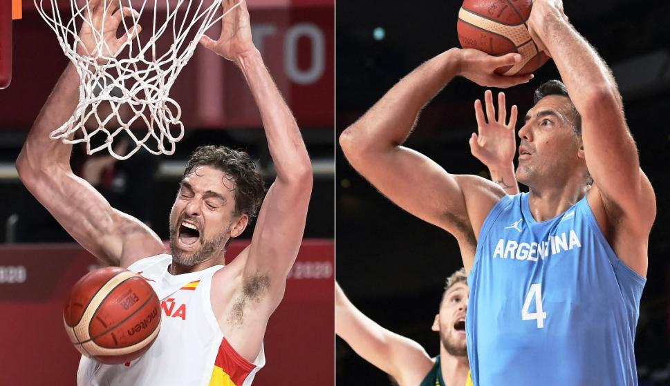 The day basketball lost two legends: Luis Scola and Pau Gasol
