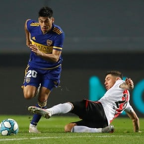 Ramírez, unstoppable: generated five yellow cards, lost a tooth and scored his penalty
