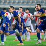 Super Boca on penalties!