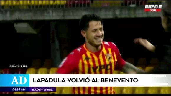 Gianluca Lapadula joined the Benevento preseason