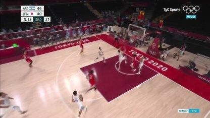 Argentina vs. Japan in basketball: Hachimura covers Delia and Japan awakens