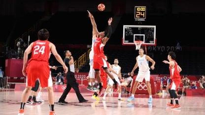 Argentina Japan basketball Tokyo 2020