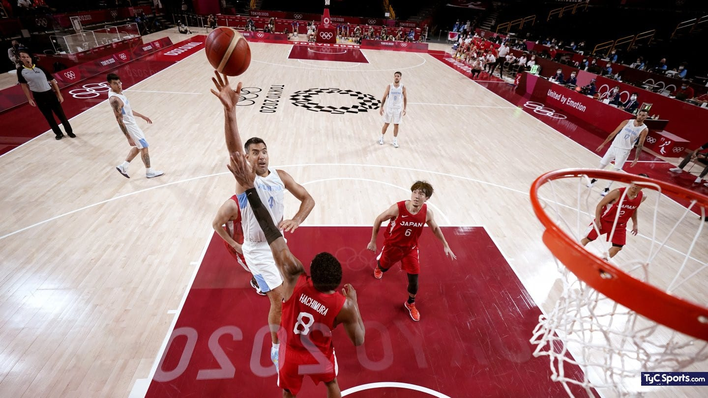 1628217068 Argentinas basketball to the quarterfinals of Tokyo 2020 the best