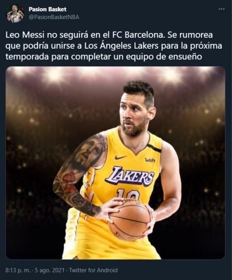 The memes after Messi's departure