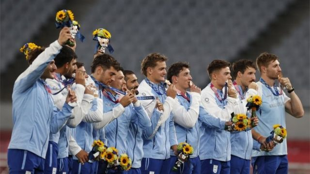 Argentina's rugby team 7