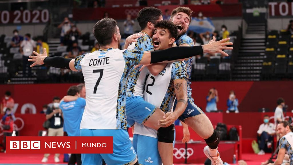 1628340682 Bronzes for Argentina Cuba and the Dominican Republic in volleyball