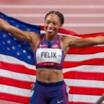 The queen of the track: Allyson Felix's record of eleven medals in athletics
