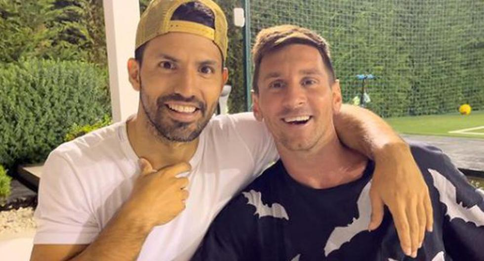 'Kun' a smile: Aguero says goodbye and uploads a photo with Messi, the first after his departure