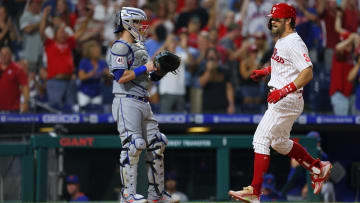 Bryce Harper led the Philadelphia Phillies to the lead